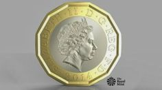 New pound coin designed to be in circulation in 2017. Billed by The Royal Mint as the 'most secure in the world'. The move comes amid concerns about the 30 year old coin's vulnerability to counterfeiting with an estimated 45 million forgeries in circulation.  The new coin is based on the design of the old threepenny bit, a twelve sided coin in circulation between 1937 and 1971