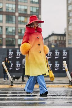 46ec3c95d72 Attendees at New York Fashion Week Fall 2019 - Street Fashion New York  Fashion Week Street