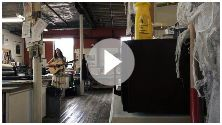 Katie Baggs - Dum Dee Dum. Great video from a rising talent. I love that this was shot at St. Michaels Printshop, a great space.