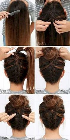 34 Five Minute Gorgeous and Easy Hairstyle