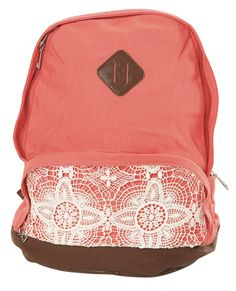 Crochet Pocket Backpack | Shop Accessories at Wet Seal