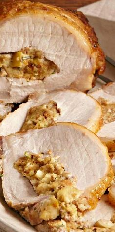 Stuffed Pork Roast