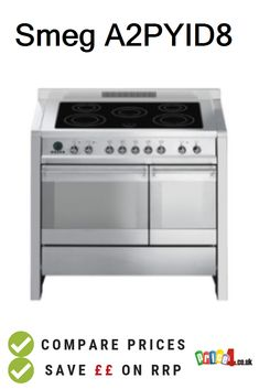 Smeg Compare UK prices and find the cheapest deals from 12 stores. Electric Range Cookers, Kitchen Appliances, Diy Kitchen Appliances, Home Appliances, Electric Stove