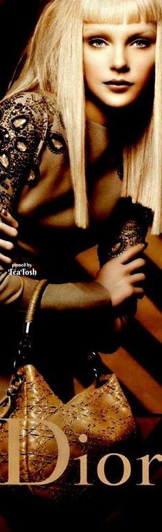 ❇Téa Tosh❇ Jessica Stam for Christian Dior