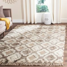 Bungalow Rose Hawke Natural Area Rug Rug Size: 8' x 10'