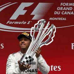 Lewis #Hamilton vince il GP del #Canada #Montreal