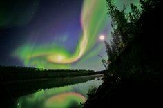 Northern lights filaments