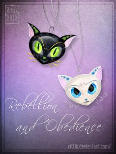 Amulets - Rebellion and Obedience by Rittik.deviantart.com on @DeviantArt