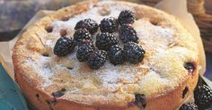 A stunning blackberry cake recipe from Miranda Gore Browne. Wow your friends with this inviting blackberry dessert which is sprinkled with vanilla sugar.