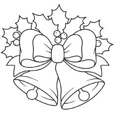 Christmas Bells – Printable Coloring Page Make your world more colorful with free printable coloring pages from italks. Our free coloring pages for adults and kids. Christmas Bells, Christmas Colors, Christmas Art, Christmas Projects, Xmas, Christmas Color By Number, Crochet Christmas, Christmas Angels, Coloring Book Pages