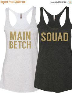 3DAY SALE squad shirt bachelorette shirts bridesmaid by LineLiam