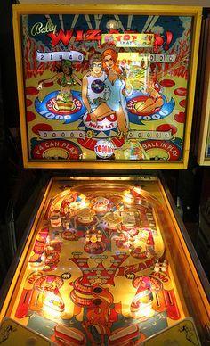 The Tommy Pinball Wizard Pinball Machine Late 1970's