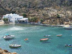 Beautiful beach on the island of Sifnos, Greece