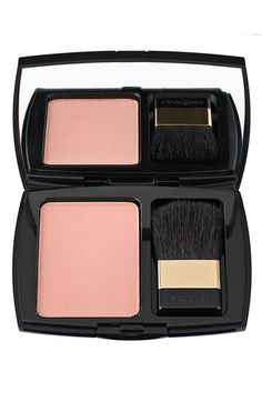 "Lancôme 'Blush Subtil' Delicate Oil-Free Powder Blush in ""Cappucine."" My all-time favorite blush, and it's been discontinued! The HUMANITY!!"