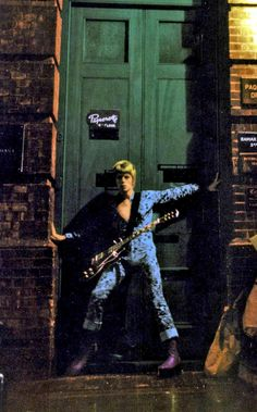 David Bowie, January 1972: alt take for the cover of Ziggy Stardust, by Brian Ward