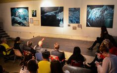 Penn State fine arts students present their final projects at the end of the 2015 spring semester.