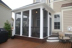Screened in Porch...I want one.