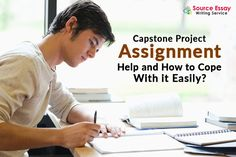 SourceEssay is the online Capstone Project assignment help that gives 100% satisfaction to the students. We are a custom writing service and we keep our customers in loop, throughout the writing process. Our experts make sure that the task assigned to us is plagiarism free and formally written. Contact SourceEssay for all your assignment needs.