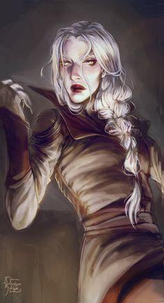 Manon Blackbeak by orchidaeknight. Heir of Fire. Queen of Shadows. Empire of Storms. Sarah J Maas