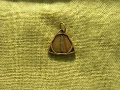 Viking Runes Pendant. Futhark Isa Rune pendant.  Size: 20*20 mm  Material: bronze Production technology – casting. Handmade.  Rune of concentration of things in a static or frozen state.