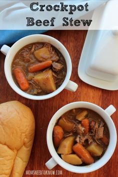If you are looking for slow cooker beef stew recipes, this one is delicious! With just a few simple steps you can have a hearty stew for dinner!