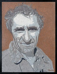 Meet Gian Paulo. The village eccentric! Visit bencravenmosaics.com for more mosaic portraits.