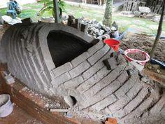 gayagama kiln building- super cool!!!