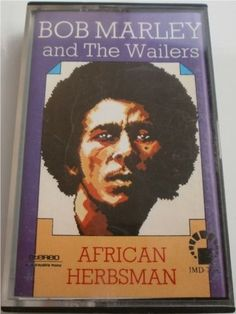 **Bob Marley & The Wailers** Cassette Tape. More fantastic recording tapes, pictures, music and videos of *Robert Nesta Marley & His Wailers* on: https://de.pinterest.com/ReggaeHeart/ https://www.taringa.net/posts/musica/19498650/Bob-Marley-El-Rey-del-reggae.html
