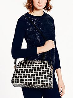 charles street fabric brantley, black/pebble-Kate Spade-$348.00