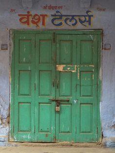 Rajasthani doorway.