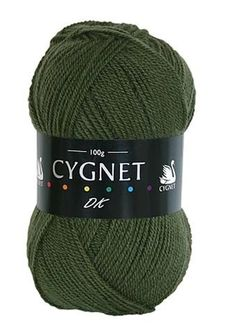 193 Cygnet Grousemoor DK Wool Double Knitting Yarn Dark Grey *MULTI OFFER*