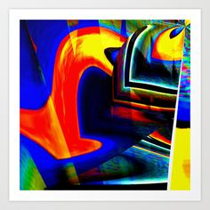 Wet Floor Art Print by David  Gough - $15.00