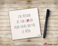 Carte Mot d'Amour : Cartes par sweetstar