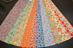 Scrumptious Quilt 20 strips 2.5x44 Jelly Roll Chic Vintage Retro Mini Flower Floral Roses Pattern