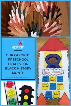 In honor of the month of February, we are sharing our favorite classroom crafts for black history month that your preschooler will love. Classroom Crafts, Preschool Crafts, Peace Corps, Black History Month, February, Black History Month People, Girl Scout Crafts