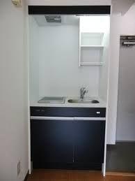 ワンルーム キッチン 黒 - Google 検索
