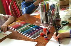 Love the idea of Family Art Night!