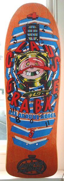 Santa Cruz - Claus Grabke (clocks) 1988 ish