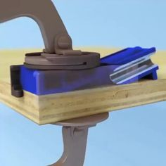 Woodworking Jig Plans, Woodworking Projects, Wood Tools, Diy Tools, Diy Table Saw, Homemade Tools, Tool Storage, Home Repair, Wood Crafts