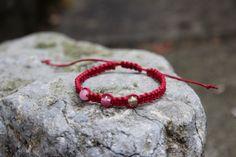 Red macrame bracelet Etsy shop https://www.etsy.com/uk/listing/200560066/dark-red-adjustable-macrame-bracelet