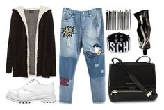 """""""IT MEANS THRILLER"""" by florenciafashionstreethunter ❤ liked on Polyvore featuring Zara, Jeffrey Campbell, Moschino, Givenchy and Aesop"""