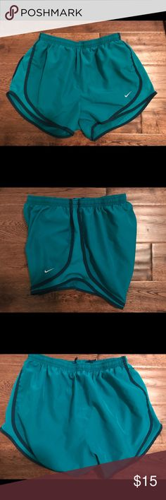 Women's Nike Tempo Running Shorts Sz Medium In good used condition. Teal color with no stains, holes, or tears. I try to describe all of my items as accurately as possible.  Please ask questions if needed before purchasing. Nike Shorts