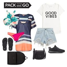 """""""😜"""" by stayve-oxfords-marie-nike on Polyvore featuring Ted Baker, Victoria's Secret, Tommy Hilfiger, Chicnova Fashion, adidas, NIKE and Michael Kors"""