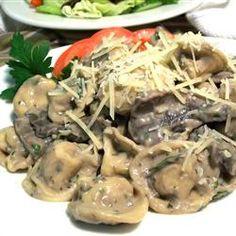 Absolutely Fabulous Portobello Mushroom Tortellini Allrecipes.com