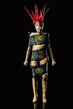 Roy's character from FaceOff Season 5 Living Art