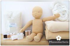 Pflanzenfaerberin: Puppenkunst // Detaillierte Anleitung zum Nähen einer Stoffpuppe