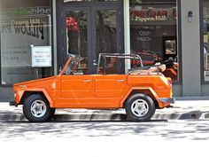 Volkswagen Thing.  I always wanted one of these.
