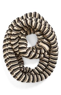 Free shipping and returns on BP. Wide Stripe Infinity Scarf (Juniors) at Nordstrom.com. Stark stripes band a cozy knit infinity scarf with a twist built right in to ensure that styling is simple.