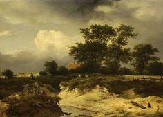 Your Paintings - Jacob van Ruisdael paintings