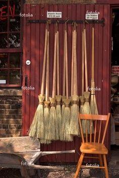 brooms alot of work